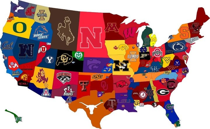 Class of 2016 College Placement Map