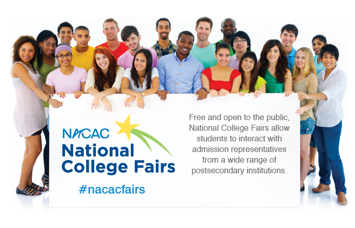 NACAC Fall National College Fair Schedule