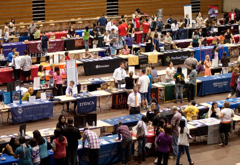 2017 Spring College Fairs & Information Sessions